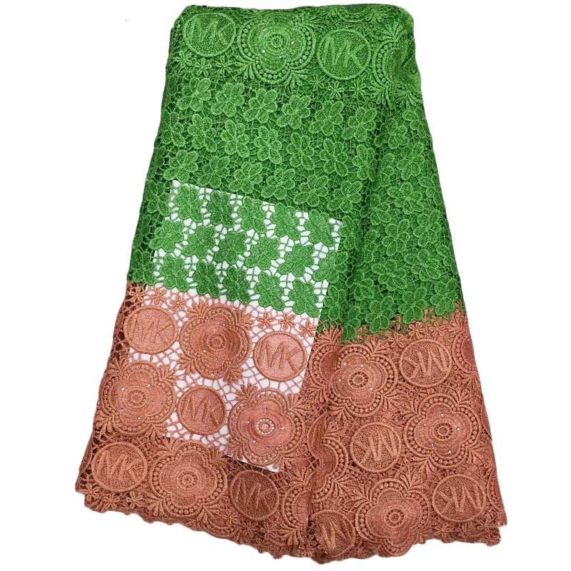Fast delivery nice sunflower flower pattern design water soluble lace,high quality African lace fabric for sewing WLY-2576(China (Mainland))