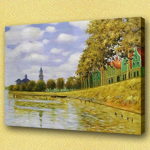 Claude Monet paintings,drawing,reproduction,fine art,decoration,famous oil painting Monet13(China (Mainland))