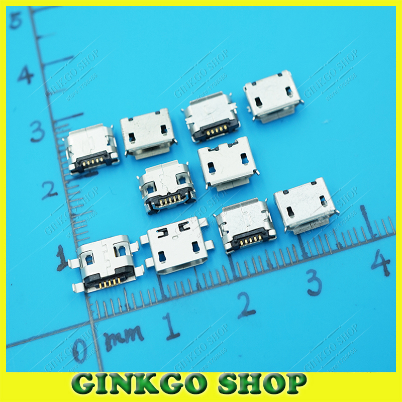 Clearing Price 100pcs lot 5Models Micro USB 5P 5 pin Micro USB Jack 5Pins Micro USB