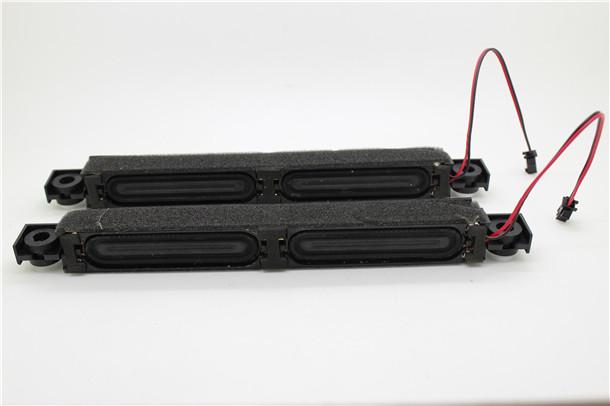 1 pair/pack Small column louderspeaker passive speakers for desktop bedside motor car LCD TV for free shipping(China (Mainland))