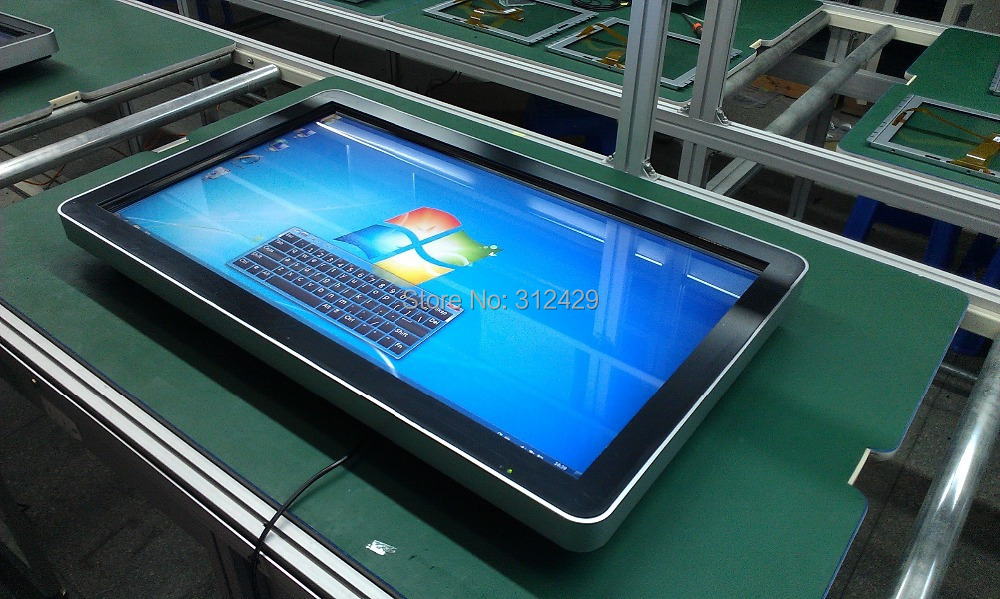 32inch touch LED all in one PC, all in one computer, desktop computer, wall hanging PC(China (Mainland))