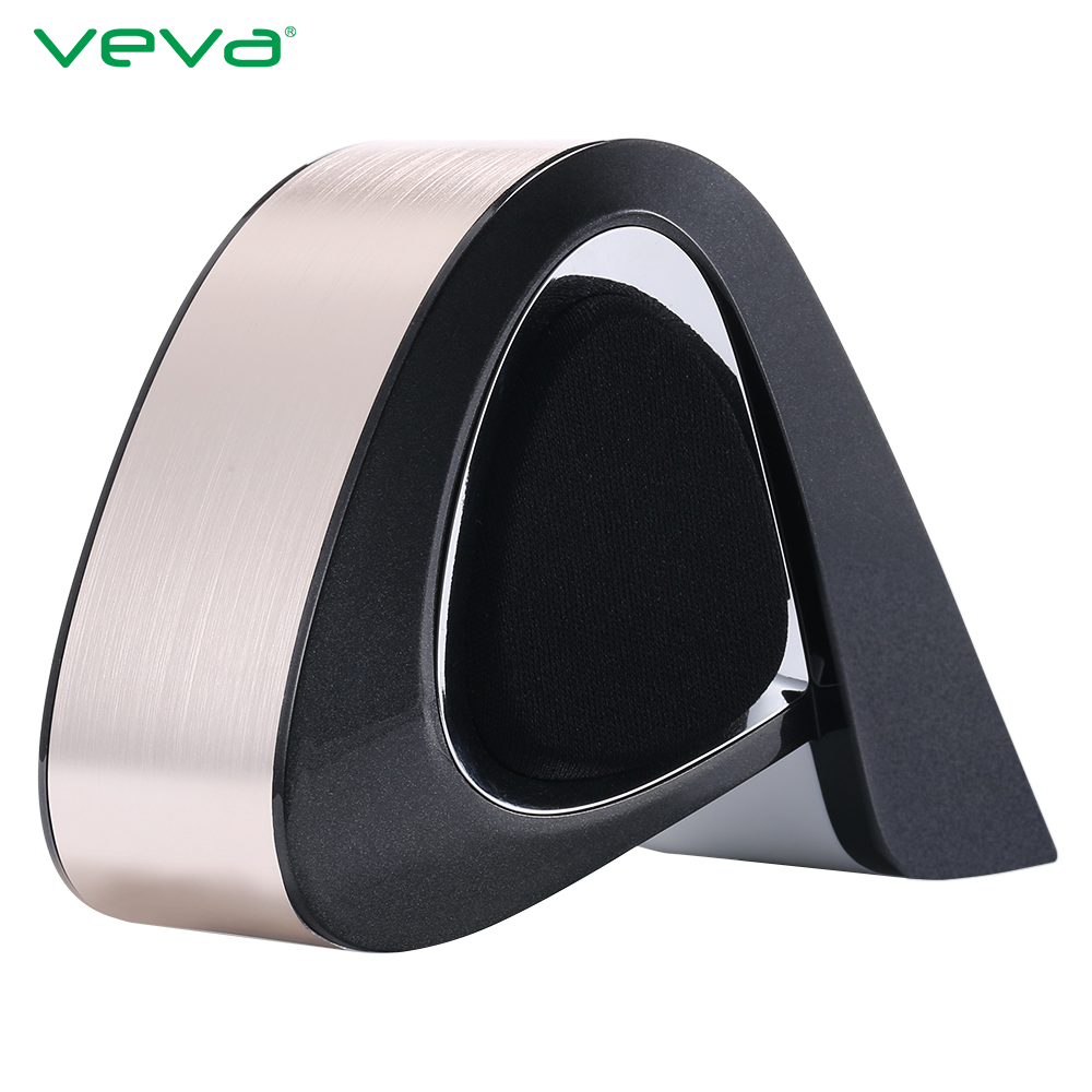 Stereo Sound Portable Wireless Bluetooth VEVA Sound Box Support TF Card Touch Switch AUX Audio Metal Speaker With Retail Box<br><br>Aliexpress