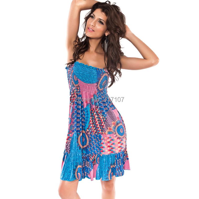 Hawaiian print dresses plus size
