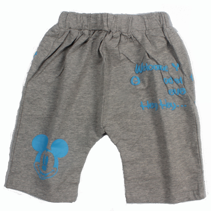 mickey mouse New boy Adjustable sports shorts children cotton Summer style short pants high quality kids casual short trousers(China (Mainland))