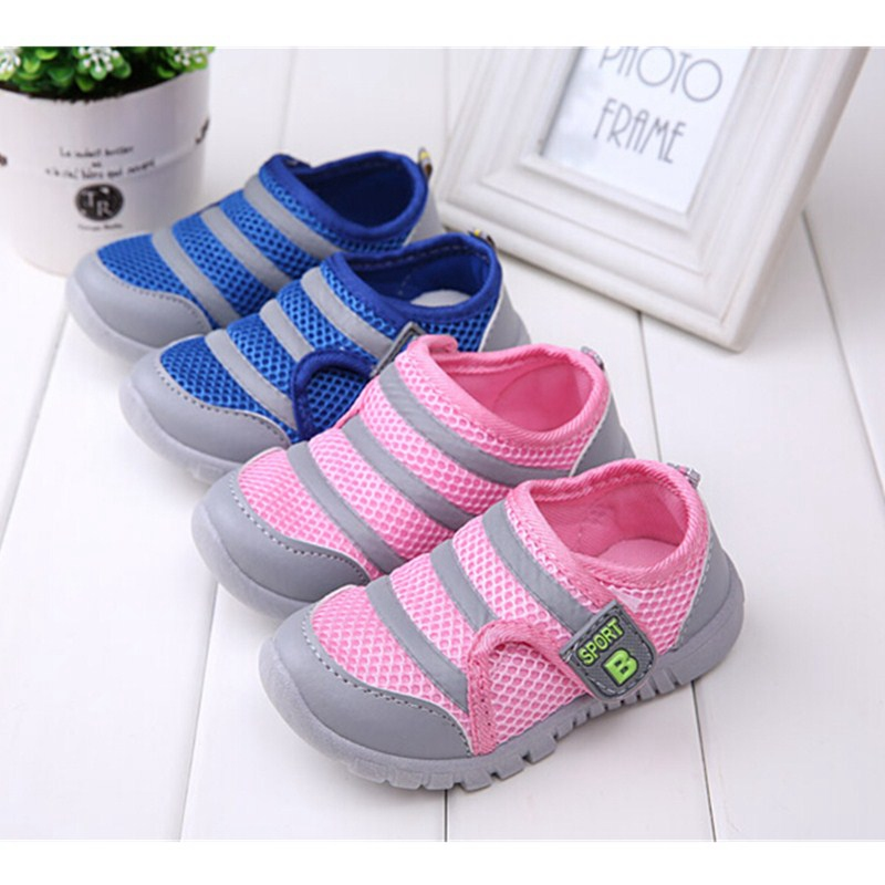 2015 High Quality Spring Kids Air mesh Sports Shoes Children Baby Sneaker Boy Girl Shoes Stylish Comfortable Antiskid Footwear(China (Mainland))