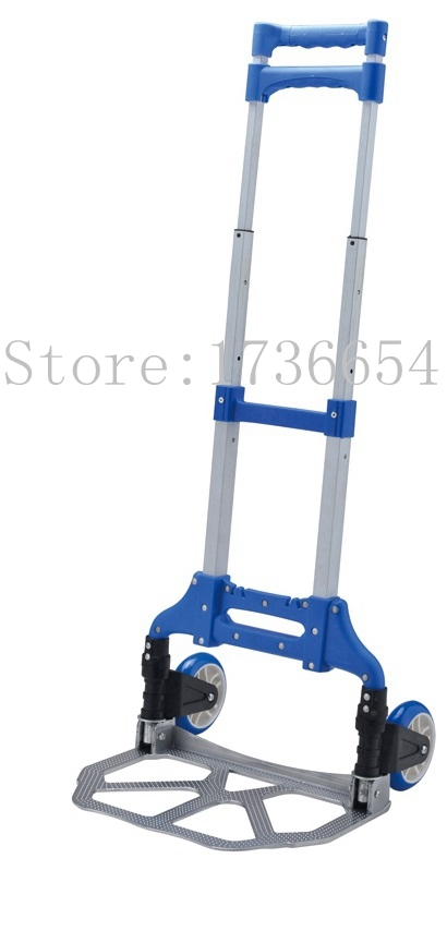 GF-H003A Free Shipping Different color Portable Luggage cart folding cart trolley Hand Truck Shopping Tools Women's Assistant(China (Mainland))