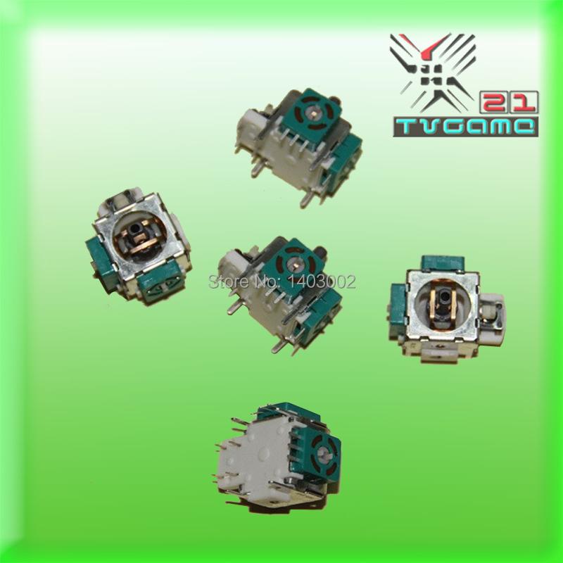 3D Analogue Joystick/3D Handle Joystick Repair Parts For PS2 Controller 10pcs/lot(China (Mainland))