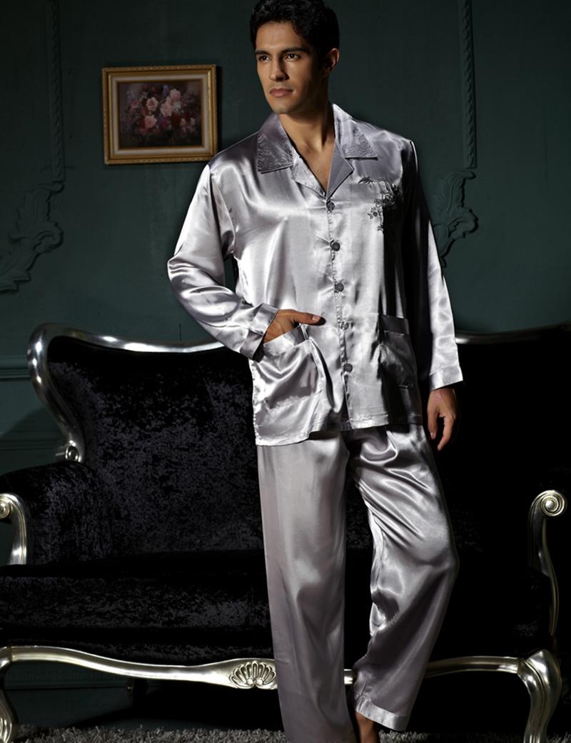 Compare Prices on Big Men Silk Pajamas- Online Shopping/Buy Low ...