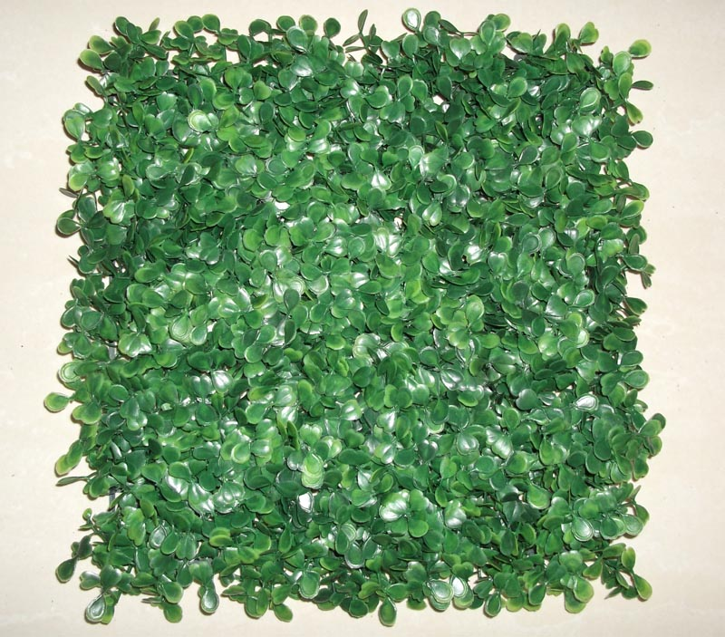 Top Cheapest Artificial plastic boxwood mat 10''*10''(China (Mainland))