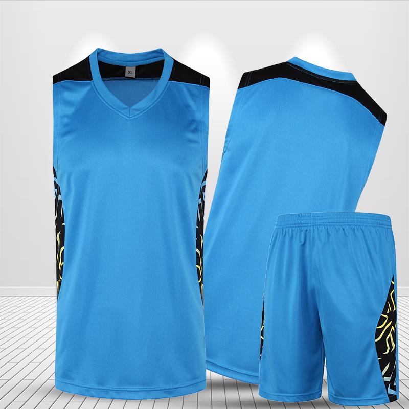 New Basketball Clothing Men Set Custom Sleeveless Short Printed Jersey Basketball Game Women Basketball Uniform Suit Plus Size(China (Mainland))