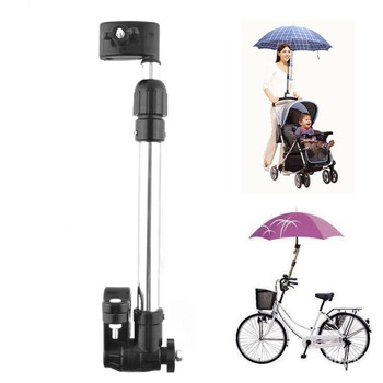 A29 Useful Baby Buggy Pram Stroller Umbrella Holder Mount Stand Handle Black VCH25 P