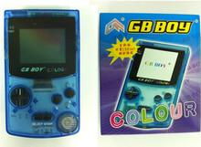 """2,7"""" kong feng gb Junge klassische farbe Farbe handheld-konsole mit backlut junge spielteilnehmer Unterstützung pokemon, zelda, gbc Spiele(China (Mainland))"""