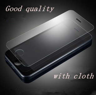 High quality Guard LCD Clear Front Screen Protector Film For iPhone 5 5G 5S 5C i5  Wholesales Free Shipping PY