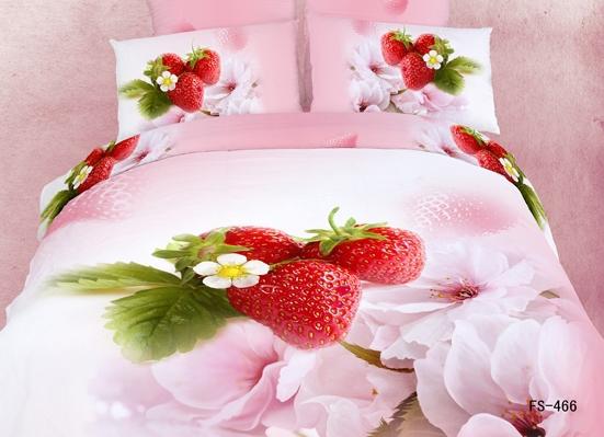 achetez en gros parure de lit de fraises en ligne des grossistes parure de lit de fraises. Black Bedroom Furniture Sets. Home Design Ideas
