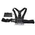 Elastic Adjustable Chest Harness Body Strap Mount With Storage Bag For SJCAM SJ4000 Gopro Hero 4