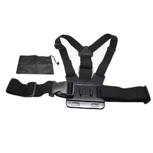 Elastic Adjustable Chest Harness Body Strap Mount With Storage Bag For SJCAM SJ4000 Gopro Hero 4 3 2 Accessories