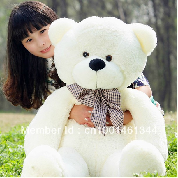 160cm teddy bear plush toys high quality and low price skin holiday gift birthday gift valentine gift stuffed animals(China (Mainland))