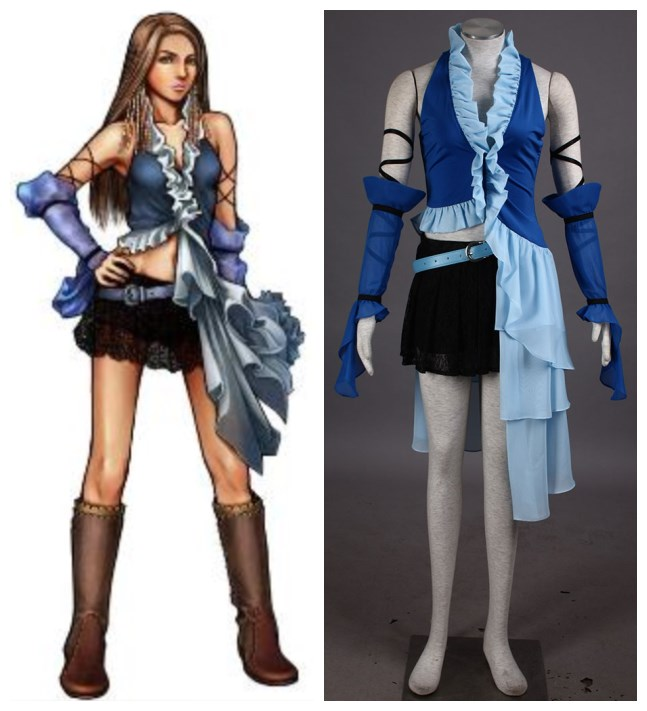 Final Fantasy X YUNA  cosplay costumes halloweenОдежда и ак�е��уары<br><br><br>Aliexpress
