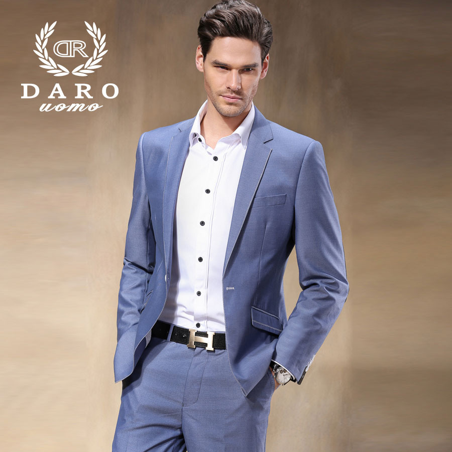 Brand Darouomo New Coming Men S Suits Simple Style Skinny