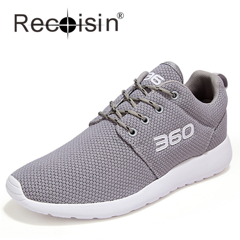 RECOISIN Plus Size 46 Summer Style Men Women Shoes Outdoor Mesh Breathable Casual Shoes Lover Trainer Light Jogging Shoes 360(China (Mainland))