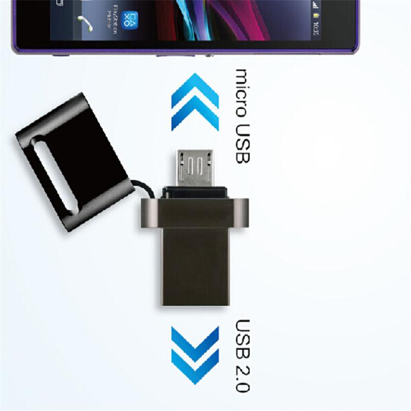 4GB - 32GB Mini Waterproof OTG smartphone usb 2.0 memory flash stick pen drive