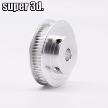 Buy 1pcs GT2 Timing Pulley 60 teeth Gear bore 5/8mm OD43mm aluminum width 6mm belt 3D printer parts Reprap CNC for $3.49 in AliExpress store