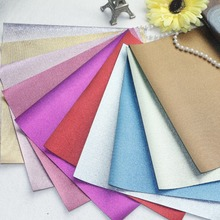 New Style! 10 pcs  High Qulity DIY PU leather synthetic leather  shiny color 10 colors can choose color(China (Mainland))