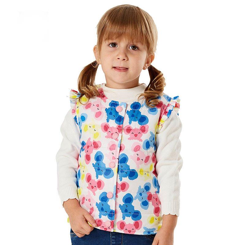 2015 baby girl clothes winter baby vest for girls coat