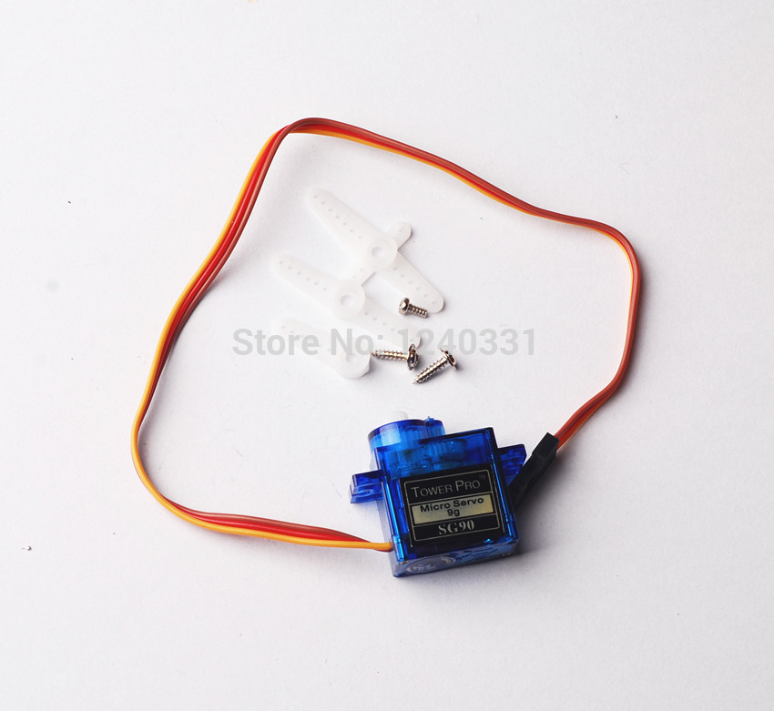 Tower Pro 9g 10PCS micro servo for airplane aeroplane 6CH rc helcopter kds esky align helicopter sg90(China (Mainland))