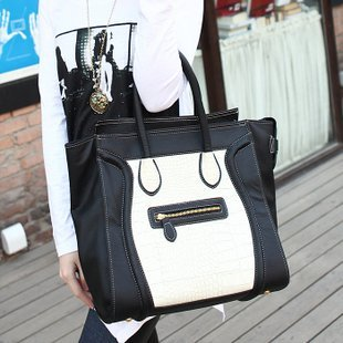 Gossip Girl Smileface Handbag Bag Shoulder Bag  Free Shipping