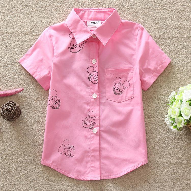 2016 New High Quality Summer Baby Boys Girls Clothing Shirts Short Sleeve Shirt Childrens Clothing(China (Mainland))