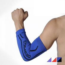 Support Basketball Shooting Honeycomb Sport Elbow Arm Warmers Pad High Elastic Gym Sports Long Arm Sleeve for Men Free Shipping(China (Mainland))