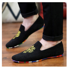 2015  Men's Fashion Shoes Men Loafers Boat Shoes Male Flats Casual Shoe Trend Slip On Suede Velvet Moccasin Men Loafer Shoes(China (Mainland))
