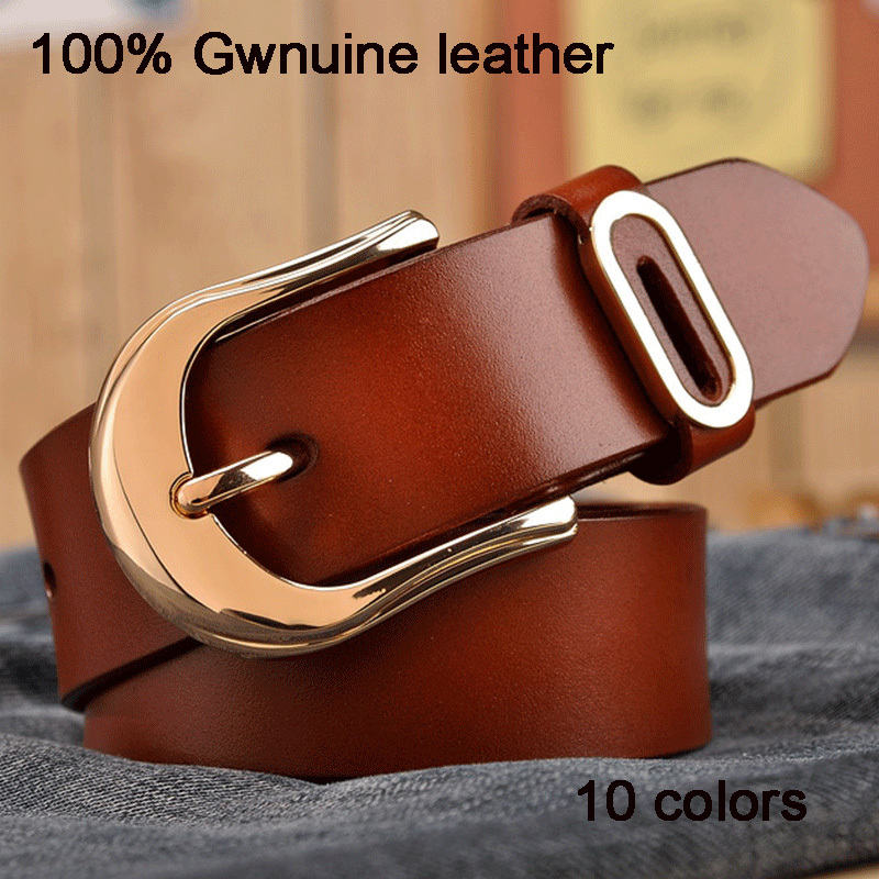 2016 Fashion colors famous brand lady belts designer women belt real leather belt for women luxury belt for women Kw04(China (Mainland))