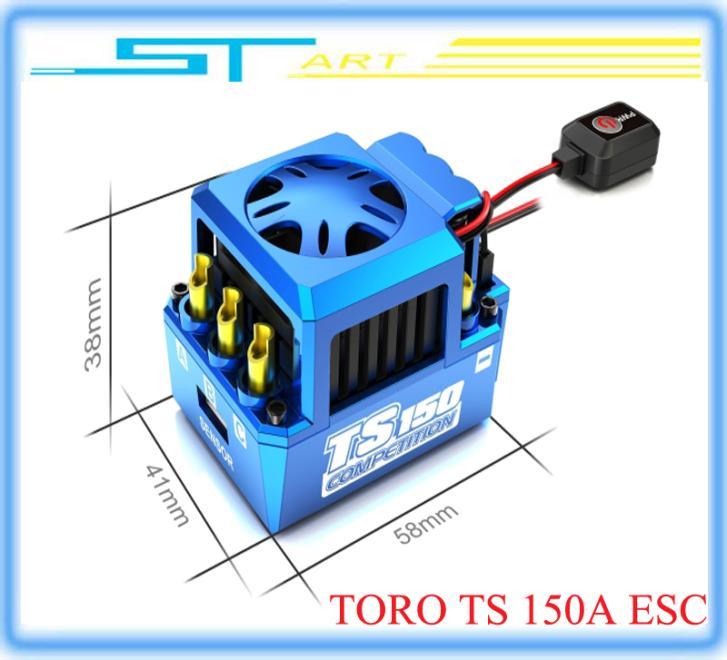 5 pcs Original SKYRC TORO TS 150A  Brushless Sensor Sensorless Motor ESC for 1:8 RC Buggy Truck  Monster Truggy low shippin toys<br><br>Aliexpress