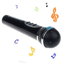 Modern Girls Boys Microphone Mic Karaoke Singing Kid Funny Gift Music Toy Nov19(China (Mainland))