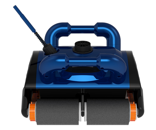 Remote Control,Wall Climb Function Robot Intelligent Swimming Pool Cleaner with caddy cart,15m cable(China (Mainland))