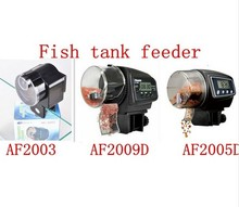 High capacity automatic feeder. Fish tank automatic timing device AF2003 AF2009D AF2005D.Automatic Auto Fish Food Feeder Timmer(China (Mainland))