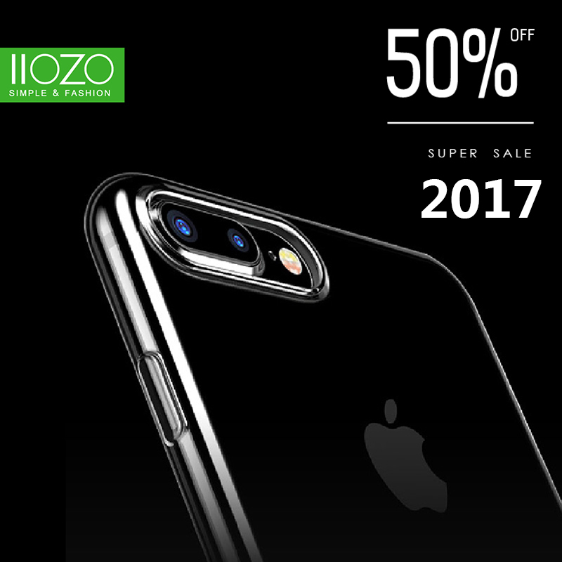 Transparent Clear Soft TPU Case for iPhone 6 6s Plus Ultra Thin Anti-knock Full Protective Mobile Phone Case Silicone Cover(China (Mainland))