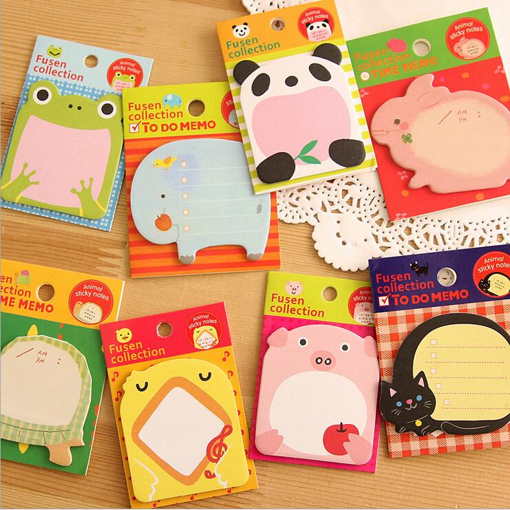 product korean kawaii notebook articulos de papelaria stationery planner scrapbooking stickers papel sticky notes escritorio decorative