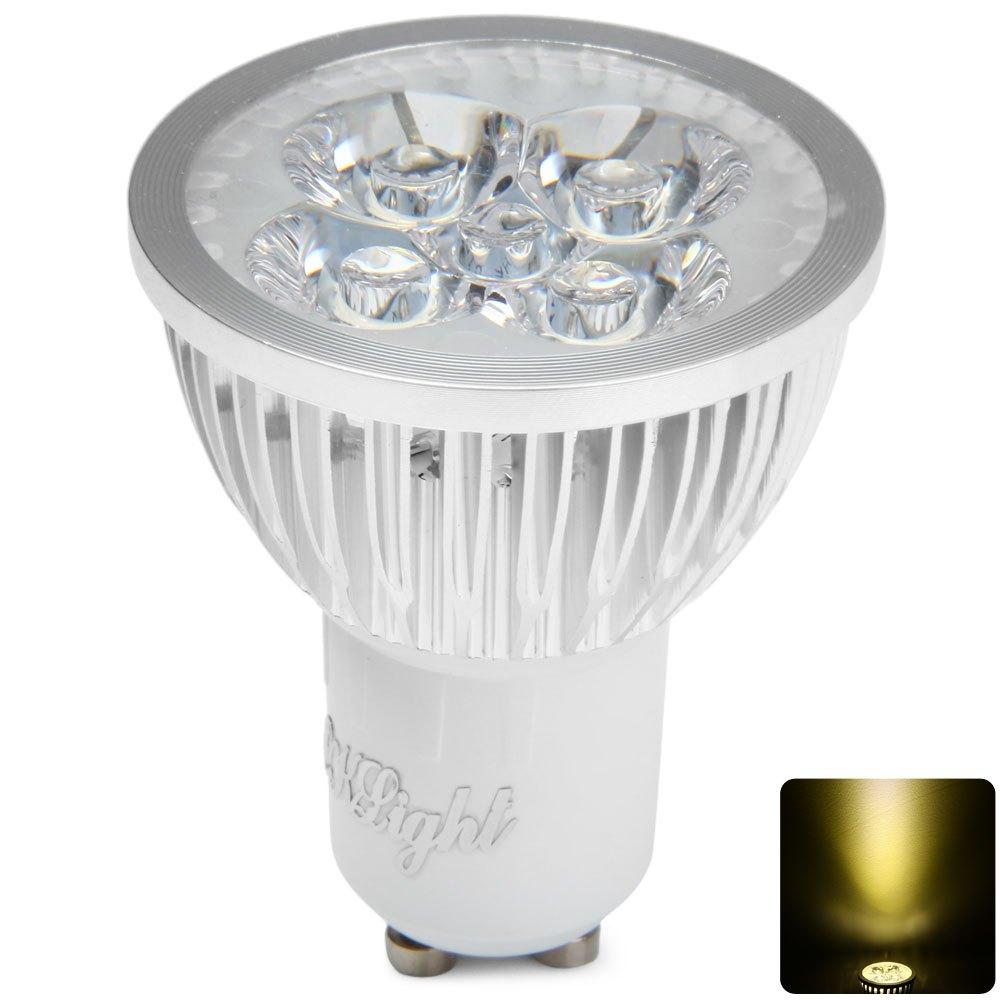Newest Super Bright GU 10 Bulbs Light Dimmable Led Warm White 110V 4W 400LM 3000K GU10 COB LED Lamp Light GU 10 Led Spotlight(China (Mainland))