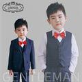 Children suits boy suit fashion dot dresses boys plaid blazer children clothing jacket pants vest