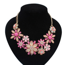 Statement Necklace 2015 Jewelry Fashion Shourouk Crystal Choker Necklaces Pendants For Woman New Gift Vintage Collars