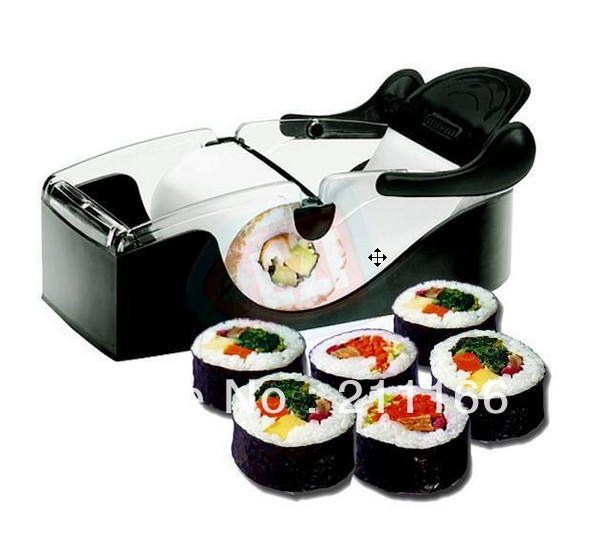 Easy sushi maker roller equipment perfect roll roll for Perfect kitchen equipment