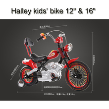"Excelli Halley kids bike 12"" & 16"" Mountain Bikes16"" for Child Bikes Vocalization Kids Bike Toy Bar Bicicleta Infantil 2 colors(China (Mainland))"