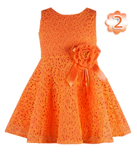 Fashion 2014 Summer New girls kids Children noble fairy bow princess lace dress high quality(China (Mainland))