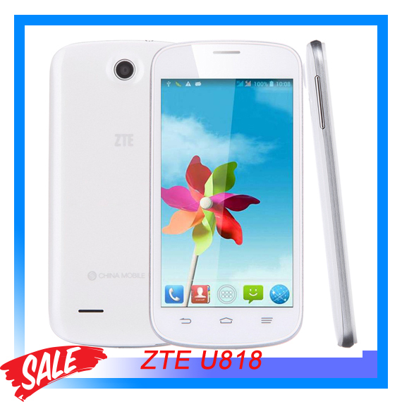 3G Original ZTE U818 RAM 512MB ROM 4GB 4 5 inch Android 4 2 Smart Phone