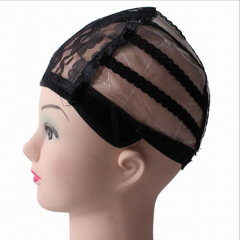 Гаджет  2015 New Arrival Glueless Full Lace Wig Cap Weave Wig Making Adjustable Straps Black Hot Free shipping None Волосы и аксессуары