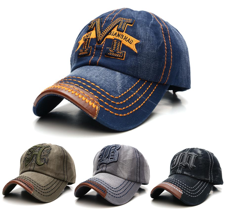 2015 New Arrival Unisex Brand Baseball Cap Fashion Cowboy Golf Hat Bone Baseball caps gorras Man