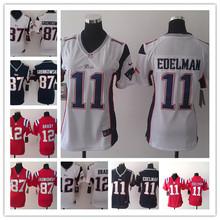 2016 Women Ladies New England Patriots,12 Tom Brady 87 Rob Gronkowski 11 Julian Edelman,camouflage(China (Mainland))